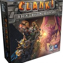 The Box art for Clank! A Deck-Building Adventure
