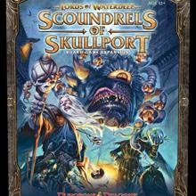 The Box art for Lords of Waterdeep: Scoundrels of Skullport