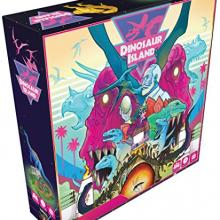 The Box art for Dinosaur Island