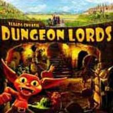 The Box art for Dungeon Lords