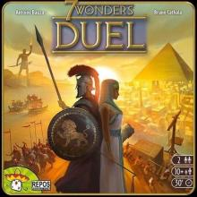 The Box art for 7 Wonders Duel