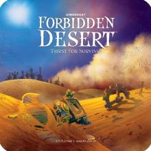 The Box art for Forbidden Desert