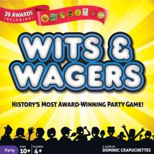 The Box art for Wits & Wagers