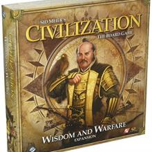 The Box art for Civilization: Wisdom and Warfare Expansion