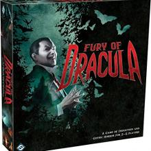 The Box art for Fury of Dracula (Third and Fourth Editions)