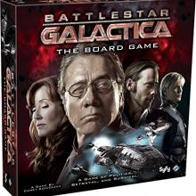 The Box art for Battlestar Galactica
