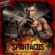The Box art for Spartacus: A Game of Blood and Treachery