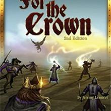 The Box art for For the Crown - Fantasy Deckbuilding boxed board game