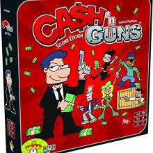 The Box art for Ca$h 'N Guns 2nd Edition