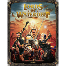 The Box art for Lords of Waterdeep