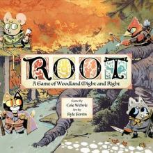 The Box art for Root