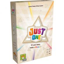 The Box art for Just One