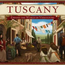 The Box art for Tuscany: Expand the World of Viticulture