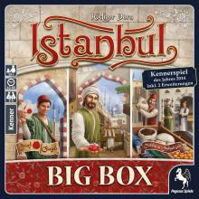 The Box art for Istanbul: Big Box