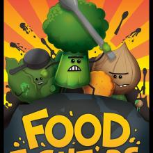 The Box art for Foodfighters