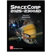 The Box art for SpaceCorp: 2025-2300 AD