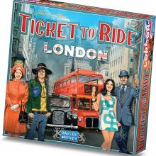 The Box art for Ticket to Ride: London
