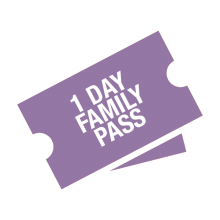 1 Day Family Pass ticket graphic