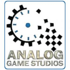 Analog game studio logo